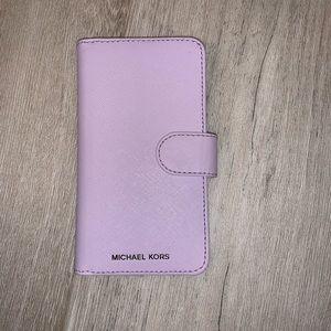 Michael Kors Wallet Case iPhone X